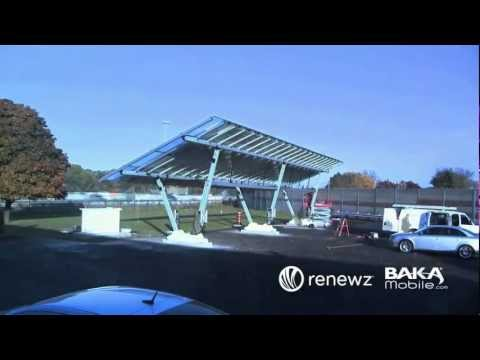 How to Build a Solar Power Carport and Electric Vehicle Charging Station
